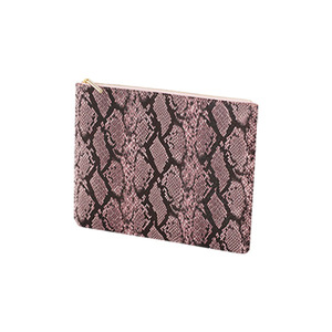 SQUARE CLUTCH - PINK ROUGE